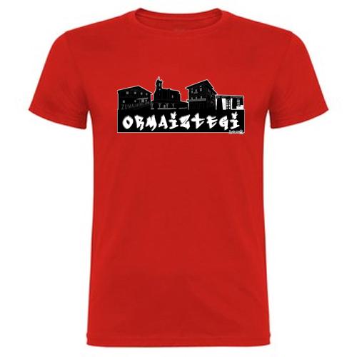 pueblo-ormaiztegi-gipuzkoa-camiseta-skyline