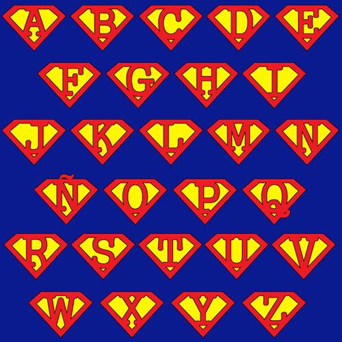 camiseta-superman-letra