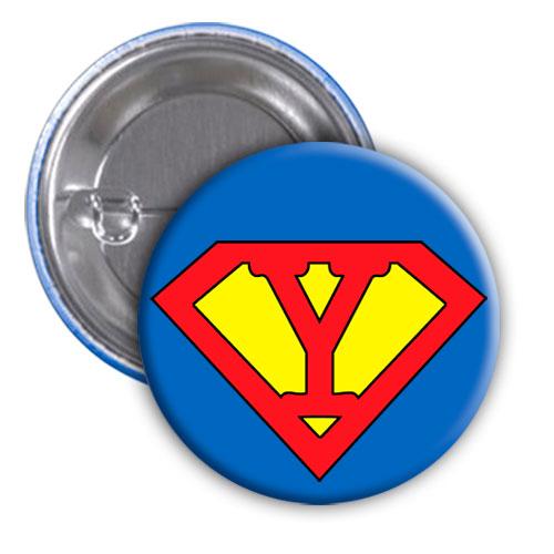 Chapa superhéroe. Súper...Y