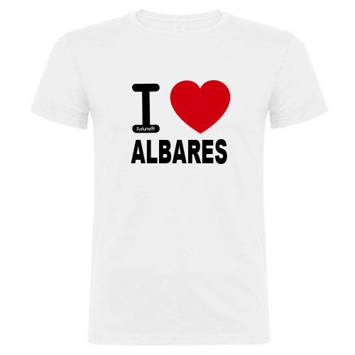 Camisetas I love pueblos de España