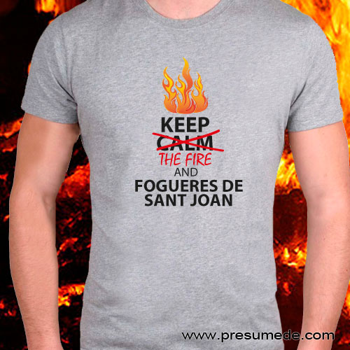 Camiseta Hogueras de San Juan
