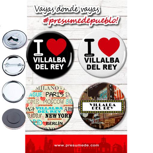 Chapas Villalba del Rey, abridores con imán espejos e imanes
