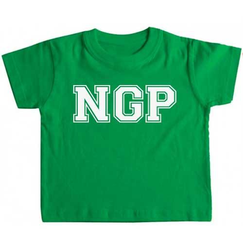 Camiseta con iniciales para bebé