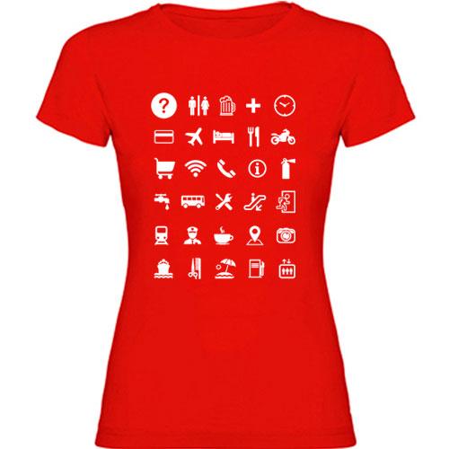 Camiseta para viajeros