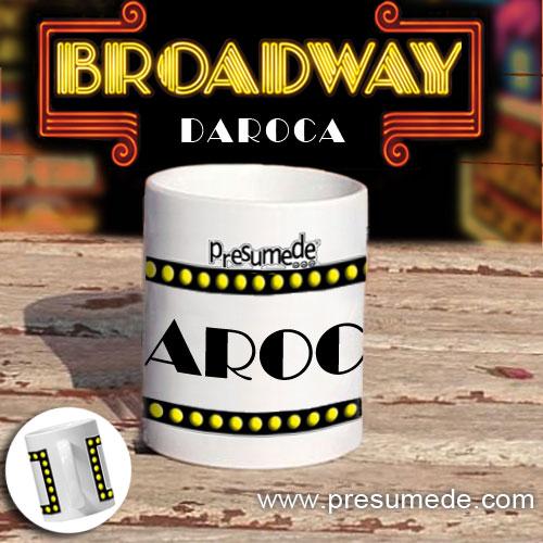 "Taza ""Broadway"" Daroca"