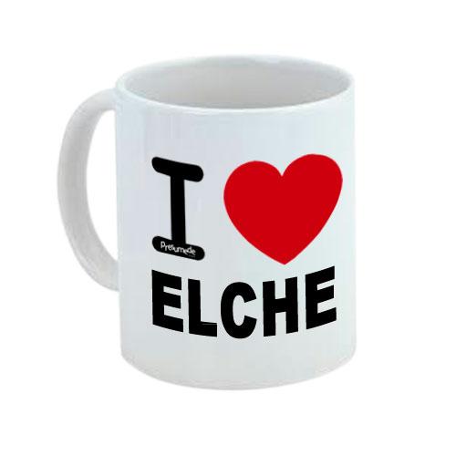 Taza I love Elche -Alicante