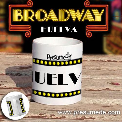 """Taza """"Broadway"""" Huelva"""