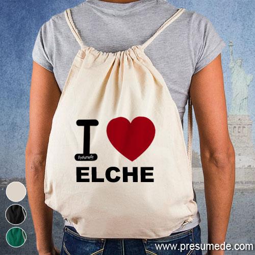 Mochila I love Elche