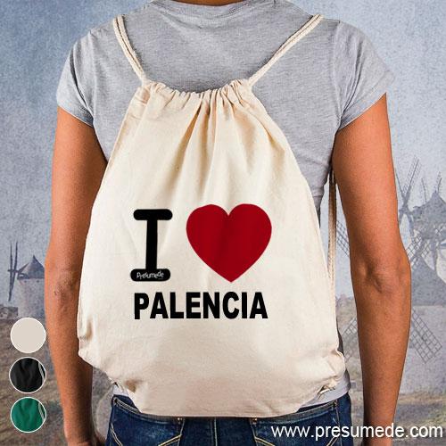 Mochila I love Palencia