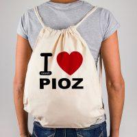 Mochila I Love Pioz