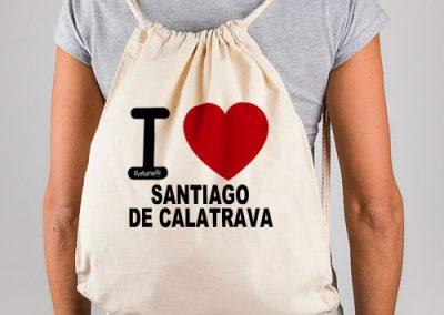 Mochila I love Santiago de Calatrava