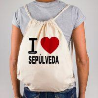 Mochila I love Sepúlveda
