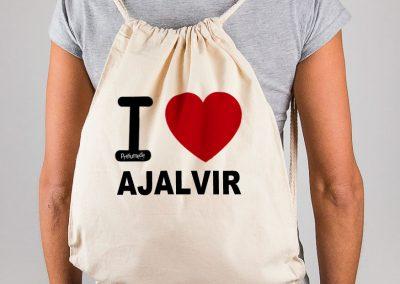 Mochila I love Ajalvir