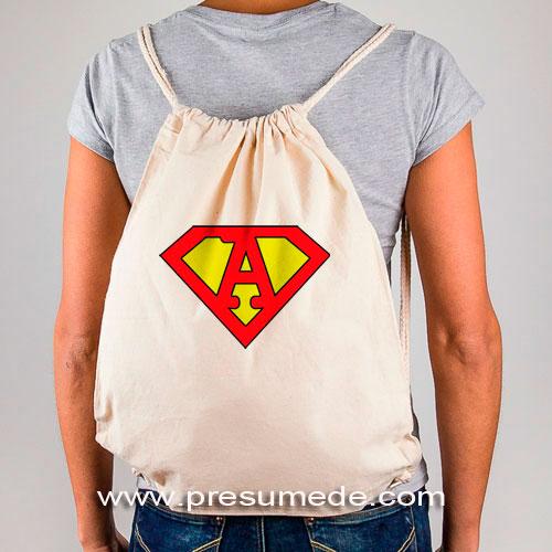 Super mochila letra A