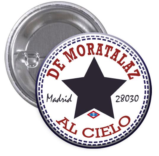 "Moratalaz. Chapa ""De Moratalaz al cielo"""