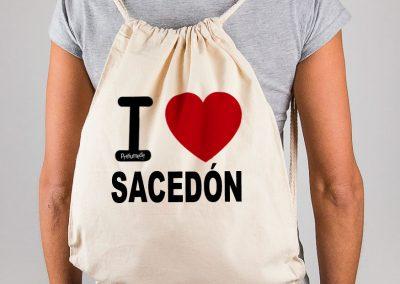 Mochila I love Sacedón