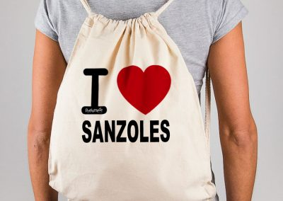Mochila I love Sanzoles