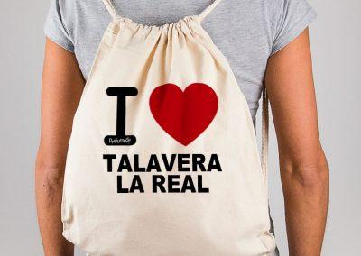 Mochila I love Talavera la Real