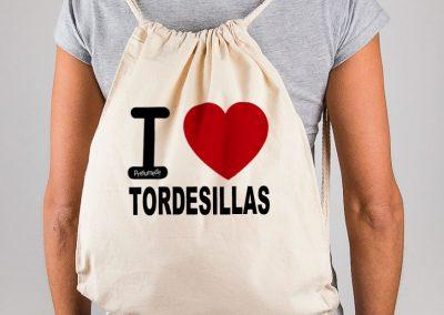 Mochila I love Tordesillas