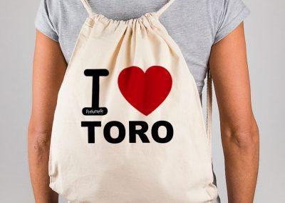 Mochila I love Toro