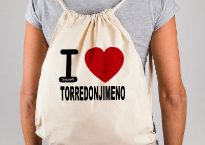 Mochila I love Torredonjimeno