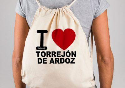 Mochila I love Torrejón de Ardoz