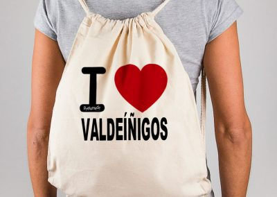 Mochila I love Valdeíñigos