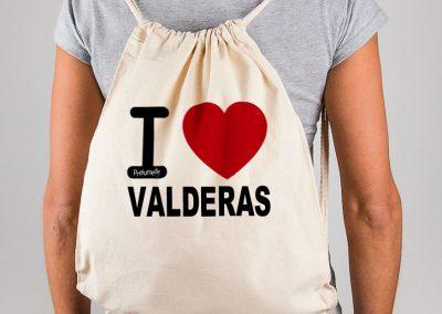 Mochila I love Valderas