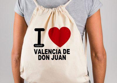 Mochila I love Valencia de Don Juan
