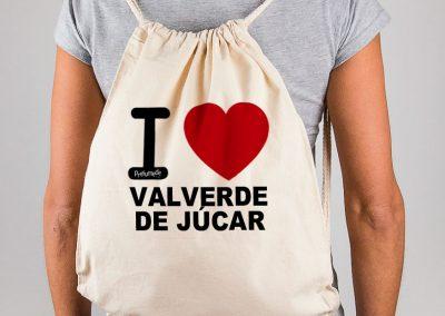 Mochila I love Valverde de Júcar