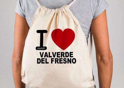 Mochila I Love Valverde del Fresno