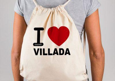 Mochila I love Villada