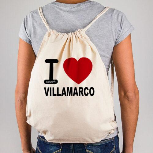 "Mochila Villamarco ""I Love"""