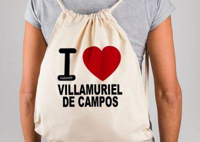 Mochila I love Villamuriel de Campos