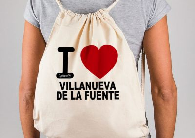 Mochila I love Villanueva de la Fuente