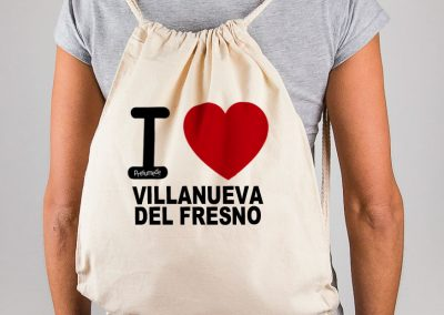 Mochila I love Villanueva del Fresno