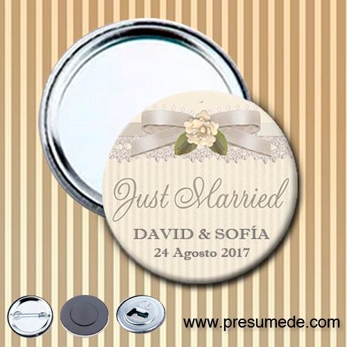 Espejos para boda lazo