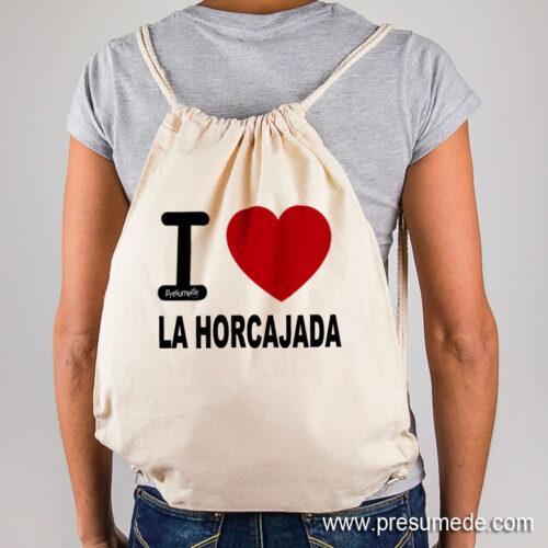 Mochila La Horcajada I Love