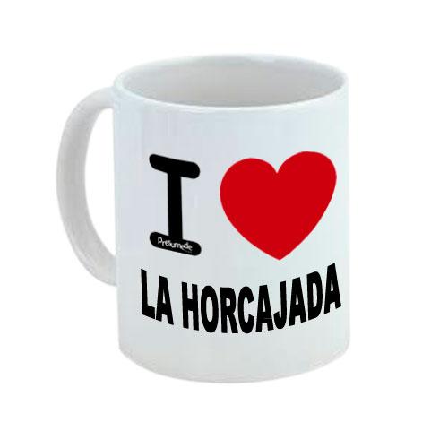 Taza I Love La Horcajada