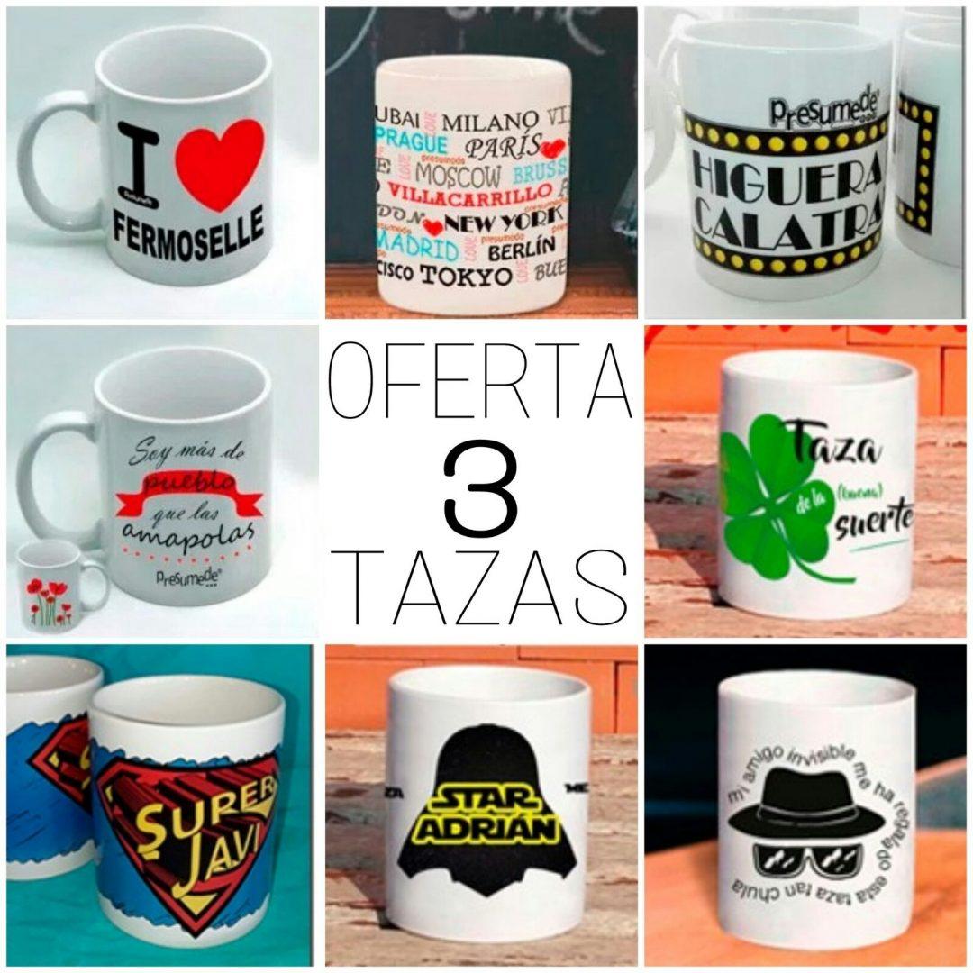 Oferta 3 tazas