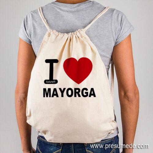 Mochila Mayorga I Love