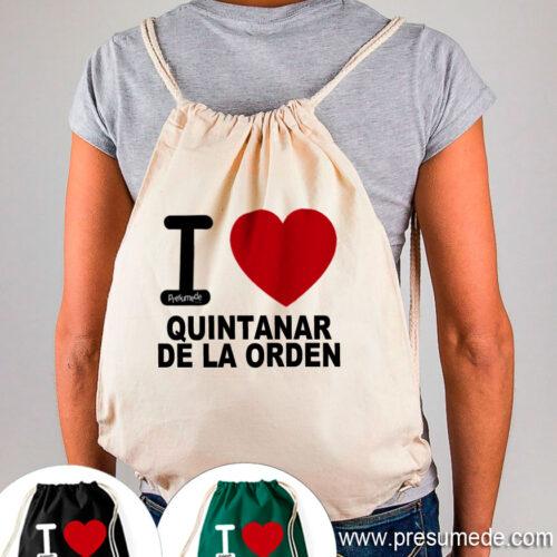 Mochila Quintanar de la Orden I Love