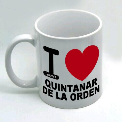 Taza Quintanar de la Orden I Love
