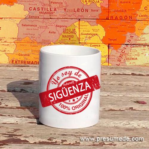 Taza Yo soy de Sigüenza 100% original
