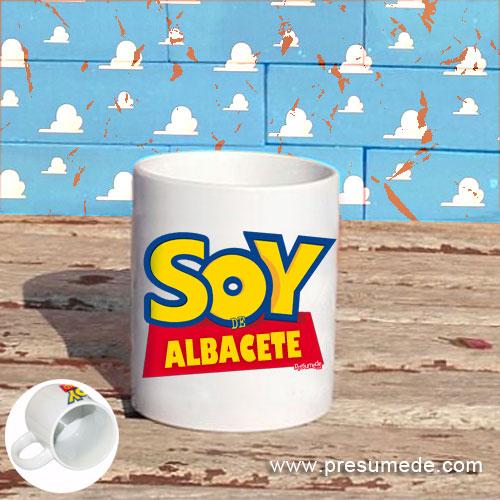 Taza Soy de Albacete