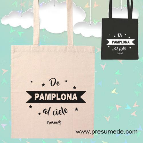 Bolsa de tela De Pamplona al cielo
