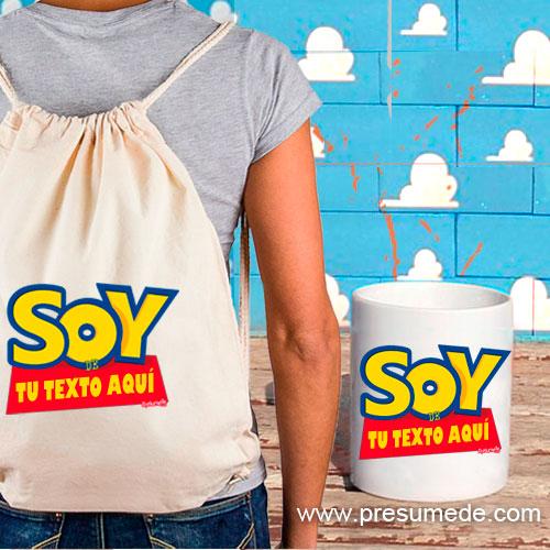 Oferta mochila y taza SOY DE...