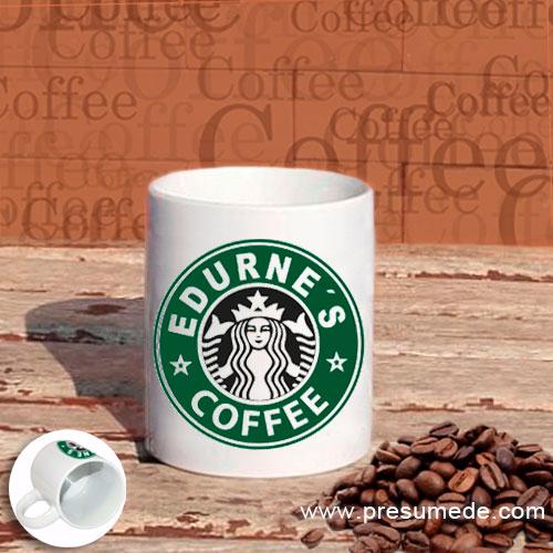 Taza Starbucks personalizada