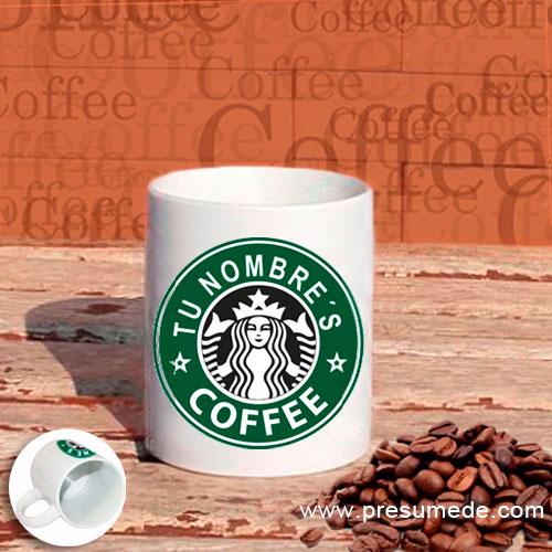 "Taza personalizada ""Starbucks"""