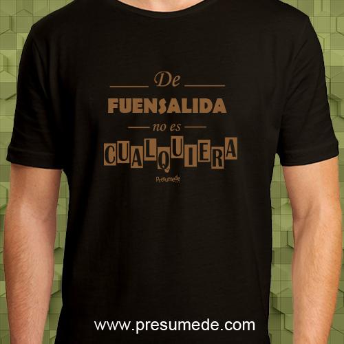 Camiseta De Fuensalida  no es cualquiera